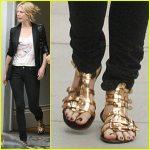 Gwyneth Paltrow Gold Gladiators