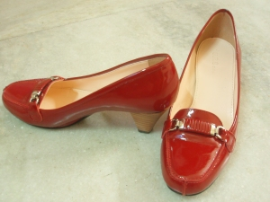 Shiny Red Shoes